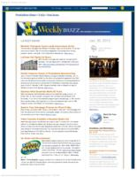 Weekly Buzz (January 20, 2013)