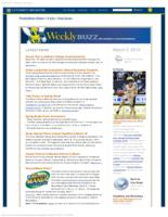 Weekly Buzz (March 3, 2013)