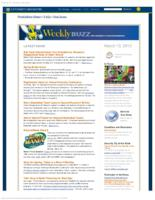 Weekly Buzz (March 13, 2013)