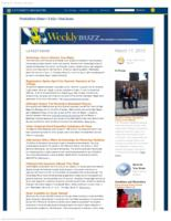 Weekly Buzz (March 17, 2013)
