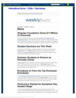 Weekly Buzz (April 6, 2014)
