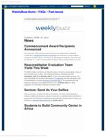Weekly Buzz (April 27, 2014)