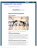 Weekly Buzz (December 14, 2014)