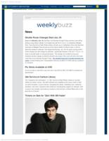 Weekly Buzz (January 18, 2015)