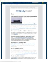 Weekly Buzz (January 25, 2015)