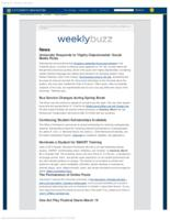 Weekly Buzz (March 8, 2015)