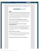 Weekly Buzz (April 12, 2015)