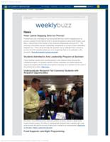 Weekly Buzz (October 4, 2015)