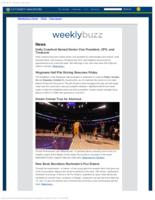 Weekly Buzz (October 25, 2015)