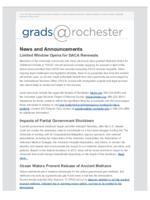 Grads@Rochester (January 21, 2018)