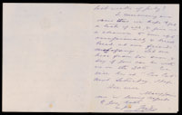 p.2 Signed letter from Booth to Russell, 1874