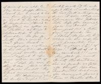 p.2 Signed letter from Booth to Russell, 1867
