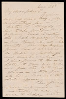 Signed letter from Booth to Russell, 1869