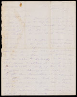 Signed letter from Booth to Russell, 1875