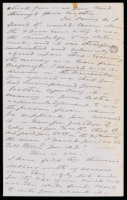 p.3 Signed letter from Booth to Russell, 1875