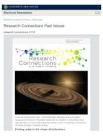 Research Connections (July 19, 2019)