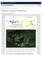 Research Connections (August 2, 2019)