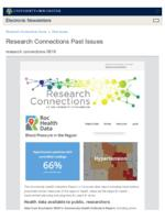 Research Connections (August 16, 2019)