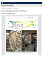Research Connections (September 6, 2019)