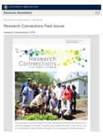 Research Connections (October 18, 2019)