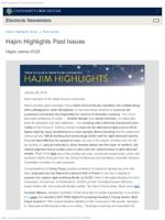 Hajim Highlights (January 29, 2018)