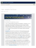 Hajim Highlights (February 5, 2018)
