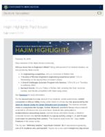 Hajim Highlights (February 19, 2018)