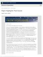 Hajim Highlights (June 25, 2018)
