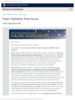 Hajim Highlights (April 8, 2019)