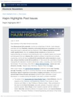 Hajim Highlights (June 17, 2019)