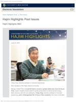 Hajim Highlights (June 24, 2019)