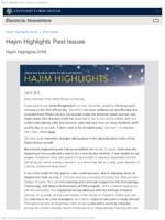 Hajim Highlights (July 8, 2019)