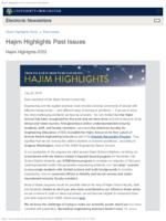 Hajim Highlights (July 22, 2019)