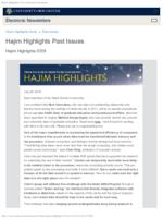 Hajim Highlights (July 29, 2019)