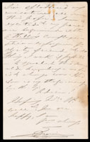 p.3 Signed letter from Booth to Russell, 1868