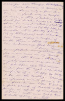 p.3 Signed letter from Booth to Russell, 1874