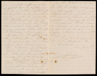 p.2 Signed letter from Booth to Russell, 1868