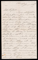 Signed letter from Booth to Russell, 1868