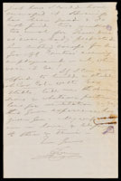 p.2 Signed letter from Booth to Russell, 1873