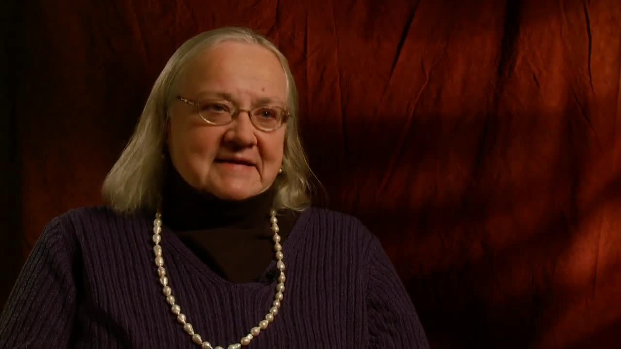 Video Interview, Susan Jordan, January 21, 2013