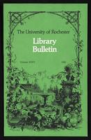 University of Rochester Library Bulletin, v. 35