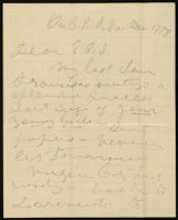 Susan B. Anthony to Elizabeth Cady Stanton, December 17, 1871