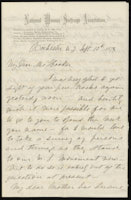 Susan B. Anthony to Isabella Beecher Hooker, September 13, 1878
