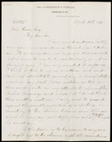 Letter from Thomas G. Shearman to John Hooker, April 16, 1875