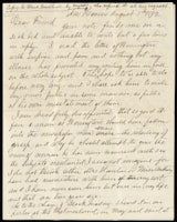 Letter from Isabella Beecher Hooker to Victoria Woodhull, August 5, 1872