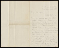 Correspondence from Charlotte Perkins Gilman to Martha Allen Luther Lane, September 21, 1888