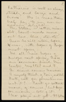 Correspondence from Charlotte Perkins Gilman to Martha Allen Luther Lane, September 7, 1889