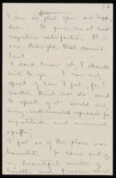 Correspondence from Charlotte Perkins Gilman to Martha Allen Luther Lane, April 17, 22, 1886