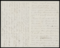 Correspondence from Charlotte Perkins Gilman to Martha Allen Luther Lane, circa 1887