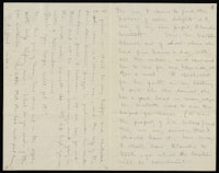 Correspondence from Charlotte Perkins Gilman to Martha Allen Luther Lane, February 11, 1884